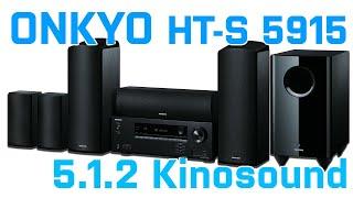 ONKYO HT-S5915 - 5.1.2 Kinosound garantiert!