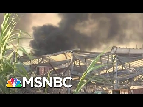 Video Appears To Show Aftermath Of An Explosion In Beirut | Craig Melvin | MSNBC