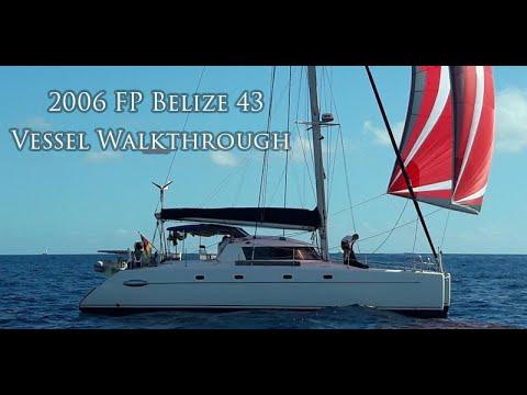 Fountaine Pajot Belize 43 video