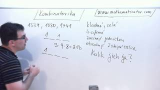 Kombinatorika - Kombinatorický příklad selským rozumem 24. 10. 2014