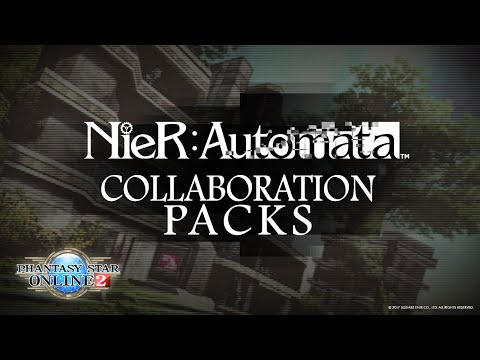 NieR: Automata Packs Headed to Phantasy Star Online 2 October 13th