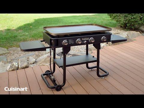 Cuisinart 36-Inch 4-Burner Gas Griddle