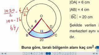 Eğitim Vadisi TYT Geometri 17.Föy Çember ve Daire 2 (Dairenin Çevresi ve Alanı) Konu Anlatım Videoları