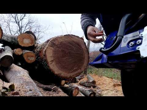 Farmertec 660 Test Saws Bucking Logs - смотреть онлайн на Hah Life