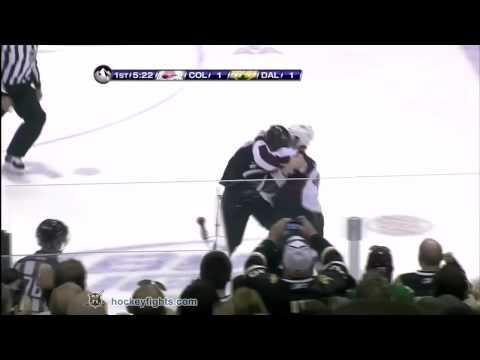 Matt Hendricks vs Steve Ott