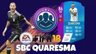 FIFA 18- SBC Quaresma Reward pack opening!!