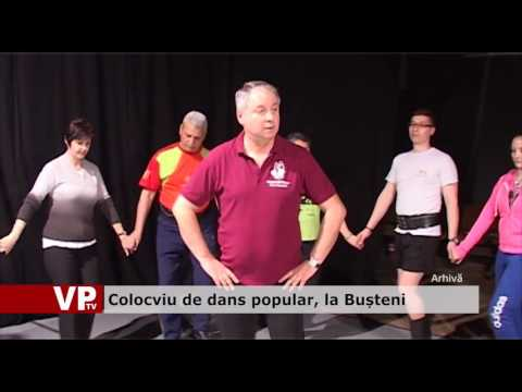 Colocviu de dans popular, la Bușteni