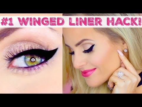 #1 Hack For Easy Winged Eyeliner | (Concealer Trick) 2019 Cat Eye Tutorial // Lindsay Ann