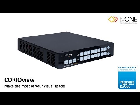 CORIOview at ISE 2019