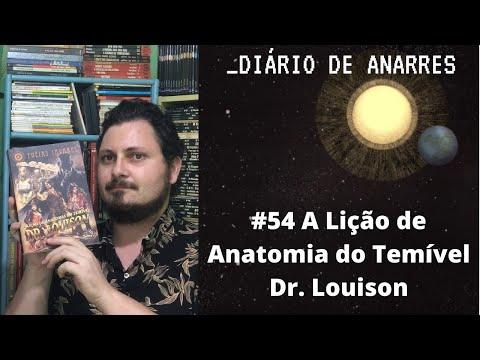 Diário de Anarres #54 - A Lição de Anatomia do Temível Dr. Louison (Eneias Tavares) - RESENHA
