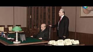 Горбачёв и Ельцин ругань