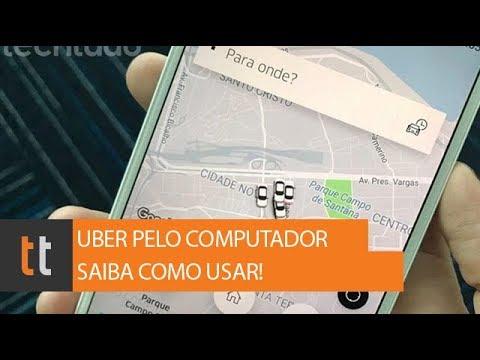 Como pedir Uber pelo computador