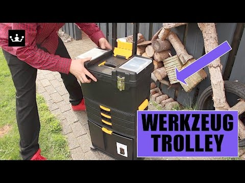 🔴 WERKZEUGWAGEN - 🛠 WerkzeugTrolley im Test 60 Euro