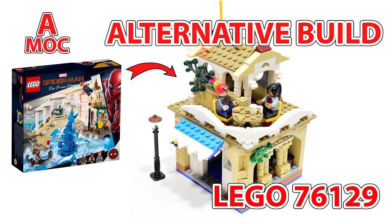 Cafe in Venice. LEGO 76129 alternative build [A MOC]