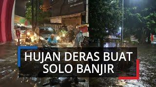 Solo Kebanjiran di Tengah Pandemi Covid-19, Sejumlah Jalanan Tergenang Parah