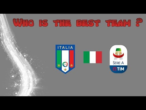 WHO IS THE BEST TEAM ? - Italy Serie A 2018/2019