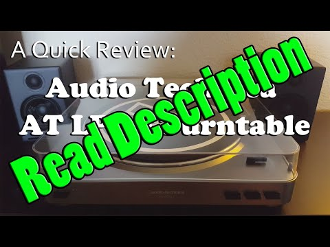 A Quick Review: Audio Technica AT LP-60 Fully-Automatic Turntable