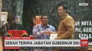 Breaking News Sertijab Basuki Tjahaja Purnama Ahok Kembali Sebagai Gubernur DKI Jakarta