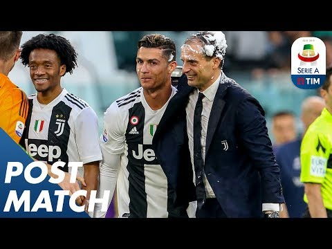Juventus 2-1 Fiorentina | Allegri and Montella Post Match Press Conference | Serie A
