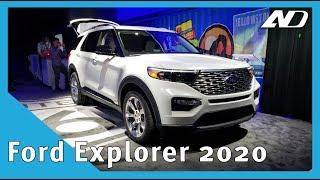 Ford Explorer 2020 - Similar por fuera pero llena de novedades por dentro | NAIAS2019