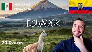 MEXICANO REACCIONA A CURIOSIDADES DE ECUADOR