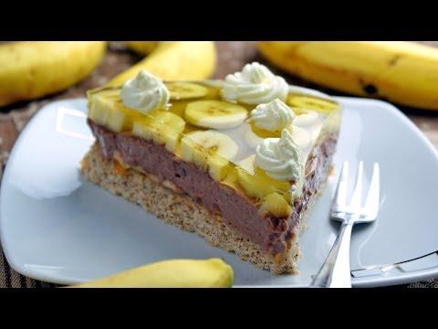 Tort bananowy | Smaczne-Przepisy.TV