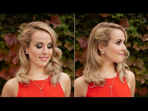 Hair Tutorial: Hollywood Waves