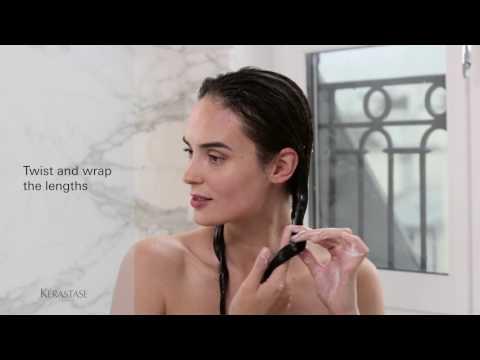 How to Use a Kérastase Hair Mask