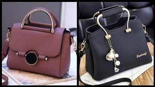Elegant (2020) Pure Leather Handbags Ideas For Women And Girls