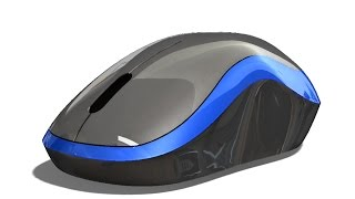 SolidWorks Tutorial #243 : Mouse (advanced surfacing)