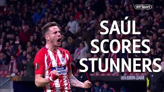 Four stunning Saúl Niguez goals! Atletico Midfielder adds to his collection with Supercup strike - Video Youtube