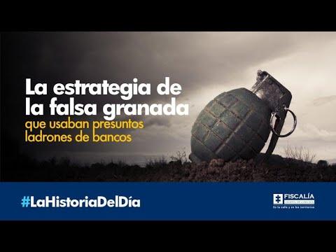 La estrategia de la falsa granada que usaban presuntos ladrones de bancos