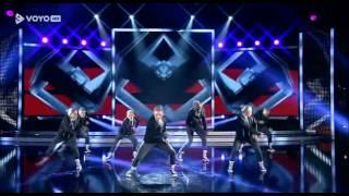 Naša plesna skupina Kaos finalna oddaja Slovenija Ima Talent