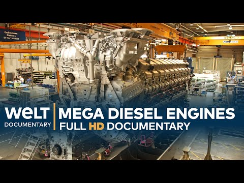 Mega Diesel Engines - Rolls-Royce Power Systems | Full Documentary