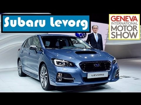 Subaru Levorg, live photos at 2015 Geneva Motor Show