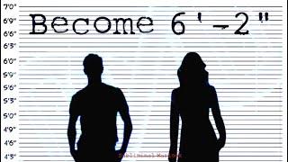 "Become 6' 2"" Tall! Subliminal Subconscious Hypnosis Binaural Beat Monaural Beats Meditation Frequenc"
