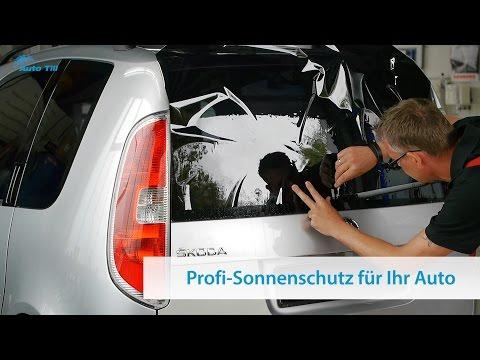 Autoscheiben tönen mit Sonnenschutz-Folien: Scheibentönung vom Profi!