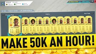 THE EASIEST 10 PLAYERS TO SNIPE ON FIFA 20! MAKE 50K AN HOUR! FIFA 20 TRADING TIPS