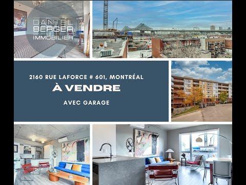 Bienvenue dans notre visite virtuelle du 2160 Laforce # 601, Montréal