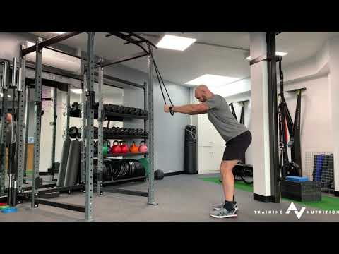 Straight Arm Pulldown with Resistance Band