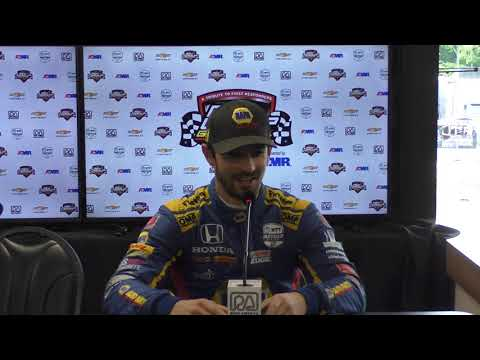 2019 IndyCar Road America Friday Press Conference