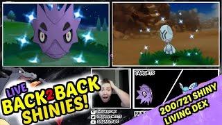 Elgyem  - (Pokémon) - [LIVE] EPIC BACK TO BACK SHINY POKEMON | SHINY PUPITAR & ELGYEM! | POKEMON OMEGA RUBY