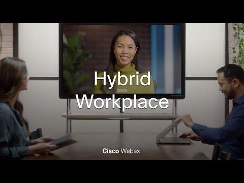 Cisco Webex is helping to shape the era of hybrid work