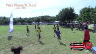 Girls 100m Class 2 Heat 4 #JCMeet