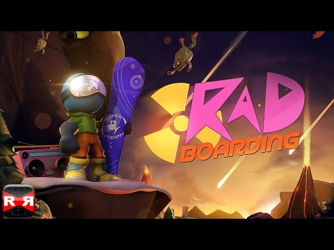 RAD Boarding (By Noodlecake Studios) - iOS / Android - Gameplay Video