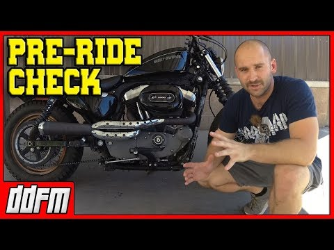 5 Motorcycle Pre-Ride Checks You Need to Do!