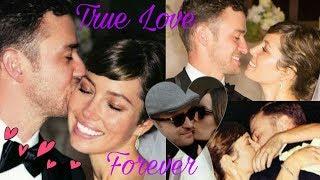 Gambar cover Justin Timberlake and beautiful wife Jessica Biel Timberlake - True Love Forever