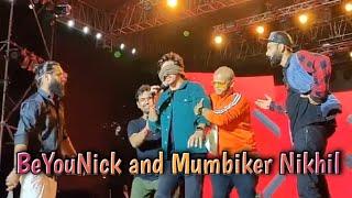 BeYouNick and Mumbiker Nikhil's Performance at Social Nation 2019