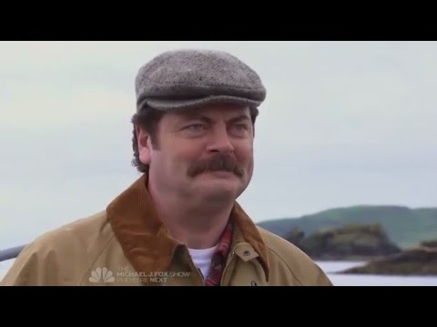 Ron Swanson's trip to United Kingdom