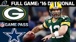2016 NFC Divisional FULL Game: Green Bay Packers vs. Dallas Cowboys